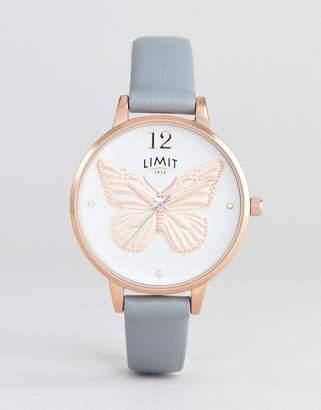 Limit Secret Garden 3D Dial Faux Leather Watch