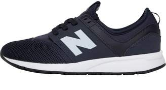 3424f272af New Balance Junior Boys 247 Trainers Navy/White