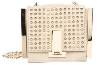 Zac Posen Stud Embellished Leather Crossbody Bag