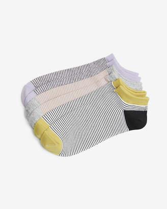 Express 3 Pack Stripe Ankle Sock Set