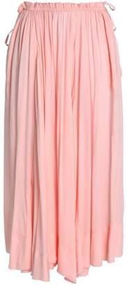 Antik Batik Crepe De Chine Maxi Skirt