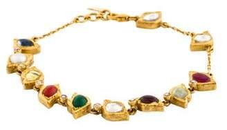 Amrapali 18K Pearl & Multistone Link Bracelet