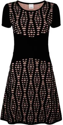Pinko Stretch Jacquard Dress