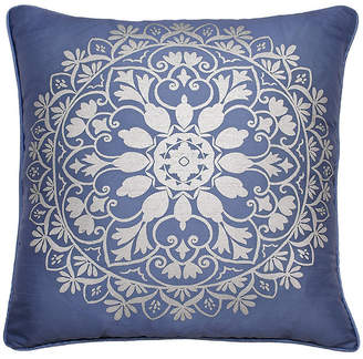 Simmons Indochine Silver Foil Decorative Pillow