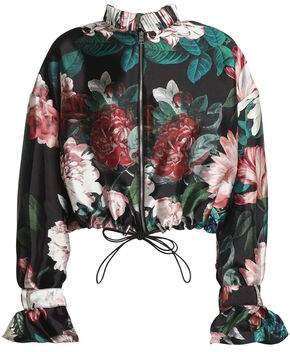 Sachin + Babi Floral-Print Faille Jacket