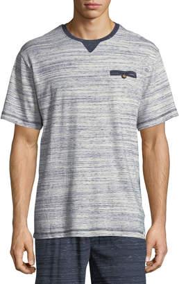 Majestic International Rye Melange-Knit T-Shirt