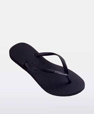 Havaianas Slim Basic Thong Black
