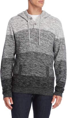 ProjekRaw Projek Raw Hooded V-Neck Sweater