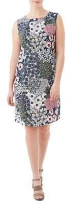 Olsen Casual Coast Signature Print Sleeveless Dress