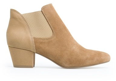 MANGO Outlet Leather Elastic Ankle Boot