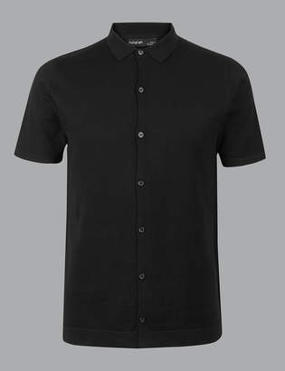 AutographMarks and Spencer Supima Cotton Short Sleeve Shirt