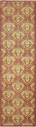 Amy One-of-a-Kind Hand-Knotted Runner, 2.1' x 11.5'