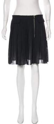 Band Of Outsiders Wool Flared Skirt