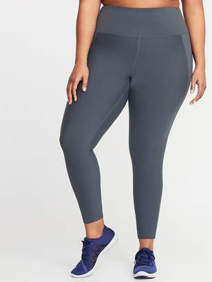 Old Navy High-Rise Elevate Built-In Sculpt Plus-Size 7/8-Length Leggings