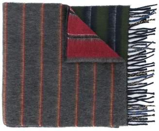 Loewe striped logo scarf