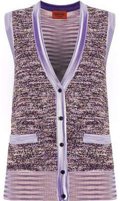 Missoni Terry-Paneled Knitted Vest