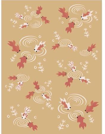 Emma Gardner - koi pond rugs by emma gardner