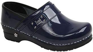 Sanita Women's Lindsey Closed Patent Clog