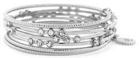 Jessica Simpson Basics Crystal Multi-Strand Bangle Bracelet