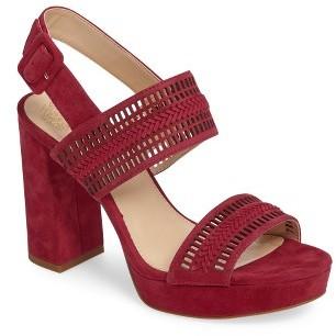Women's Vince Camuto Jazelle Slingback Platform Sandal $139.95 thestylecure.com