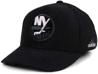 adidas New York Islanders Nhl Black Tonal 873 Flex Cap