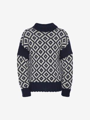 Alexander McQueen Chunky-Knit Sweater