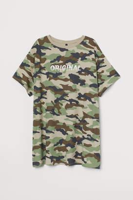 H&M H&M+ T-shirt Dress - Green
