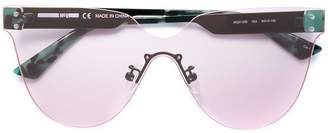 McQ aviator frame sunglasses