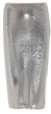Metallic sequinned skirt