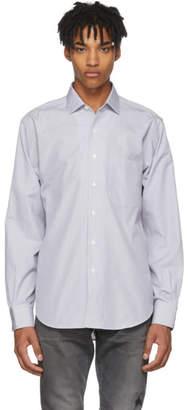 Cobra S.C. Grey and White Micro Stripe LP Shirt