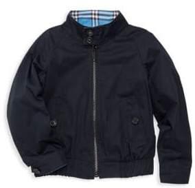 Burberry Little Boy's& Boy's Harrington Reversible Jacket