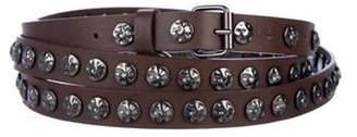 Haute Hippie Studded Wrap-Around Belt w/ Tags Brown Studded Wrap-Around Belt w/ Tags