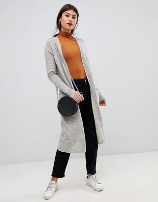 Vila knitted long cardigan
