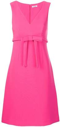 P.A.R.O.S.H. sleeveless belted dress