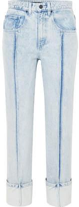 Alexander Wang High-rise Slim-leg Jeans