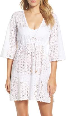 Tory Burch Broderie Anglais Cover-Up Dress