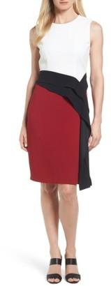 Women's Boss Disalana Color Block Sheath Dress $625 thestylecure.com