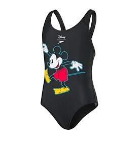 Speedo Disney Mickey Mouse 1 Piece (Girls 8-14 Yrs)