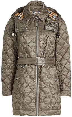 Burberry Baughton Jacket with Detachable Hood