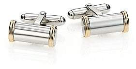 David Donahue Men's Sterling Silver & 14K Gold Cuff Links