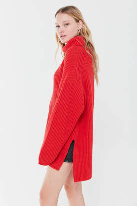Urban Outfitters Tatum Turtleneck Tunic Sweater