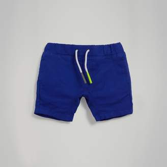 Burberry Drawcord Cotton Linen Twill Shorts , Size: 9M