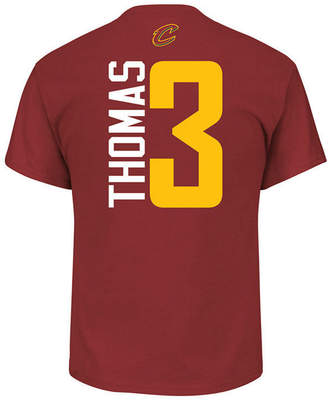 Majestic Men's Isaiah Thomas Cleveland Cavaliers Vertical Name and Number T-Shirt