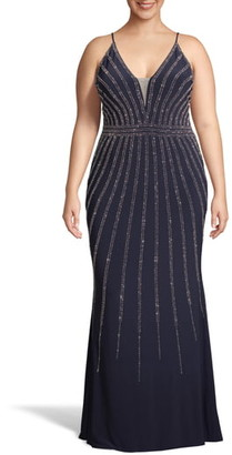 Xscape Evenings Beaded Evening Dress