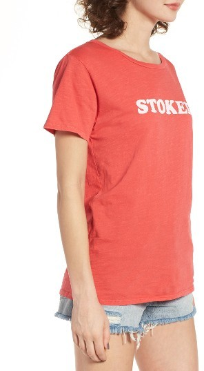 Women's Billabong Stoked Graphic Tee 4