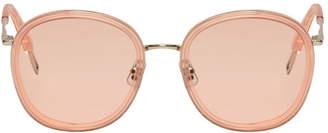 b0b39f31276 Free Shipping at SSENSE · Gentle Monster Pink Ollie Sunglasses