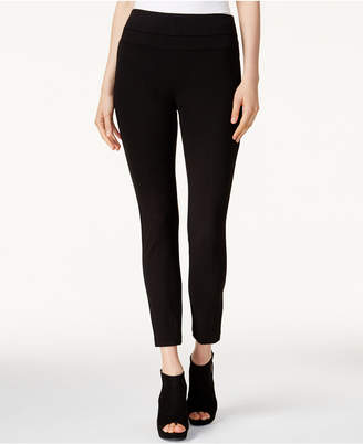 Bar III Pull-On Ponte Leggings
