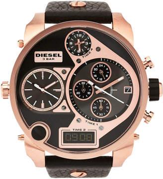Diesel DZ7261 Rose Gold-Tone & Black Watch