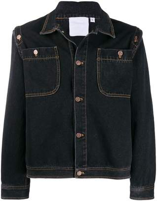 Telfar classic denim trucker jacket
