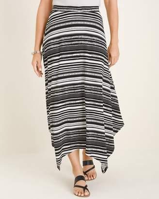 c8ac73ec1d Chico's Chicos Striped Midi Skirt